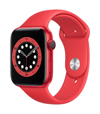 Apple Watch Series 6 (GPS) RED Aluminium Product(RED) Sports Band